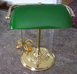 """""""Lawyers/Bankers"""" Desk Lamp"""