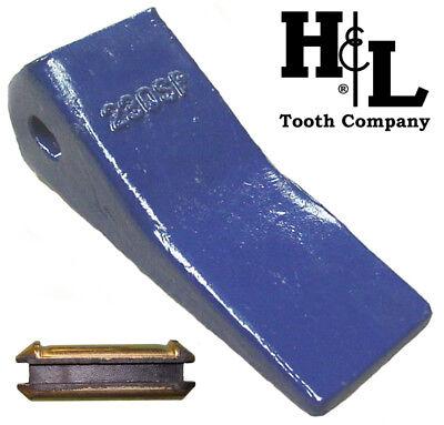 230csp Hl Tooth Co. 23 230 Backhoe Bucket Teeth Pin Deere Case Jcb 230sp Cast