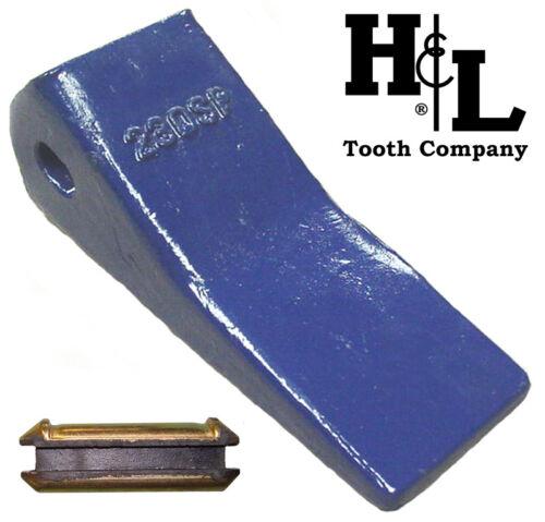 230SP H&L Tooth Co. 23 230 Backhoe Bucket Teeth 230CSP + 23FP for Deere Case JCB
