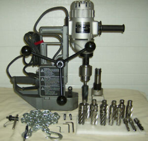 Magnetic Drill with annual cutters