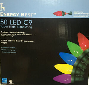 Colour Outdoor LED lights