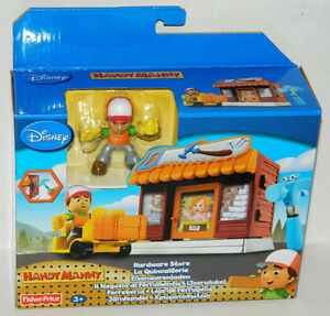 Disney Fisher-Price Handy Manny Hardware Store Playset