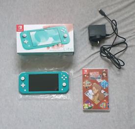 Nintendo Switch Lite + Layton's Mystery Journey