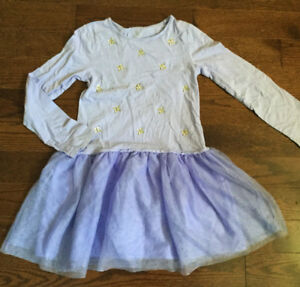 Children's Place Size 10-12 Purple Dress Robe fille