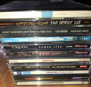 CD Lot $15 for all..or $5 per Creed Nickleback Martika 80's 90's