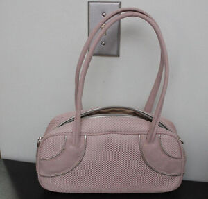 Like New Aldo Pink Suede Purse - used once