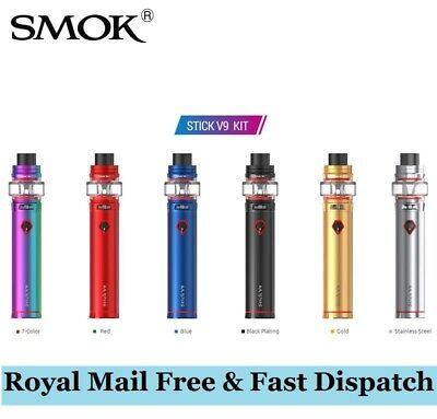 SMOK Stick V9 Kit 3000mAh Vape Pen Style V-9 Kit Best Vape Stick Complete Kit-UK