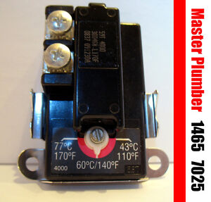 MP 1465 7025 lower electric water heater thermostat GSW, Giant