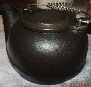 Cast Iron Wagner Kettle