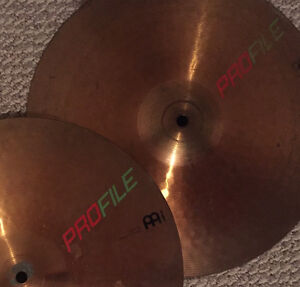 "Meinl Profile (80's) 14"" Hi Tech Hi Hats"