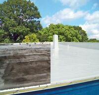 Flat or metal roofing