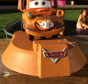 DISNEY PIXAR TOW MATER ANIMATED MOVING TALKING BANK Gatineau Ottawa / Gatineau Area image 7