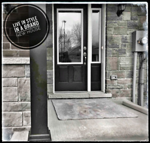 BRAND NEW-3 BEDROOM TOWN (north-end)