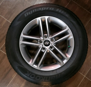 NEW 235/65R17 All Season tires + NEW HYUNDAI SANTA FE Alloy Rims
