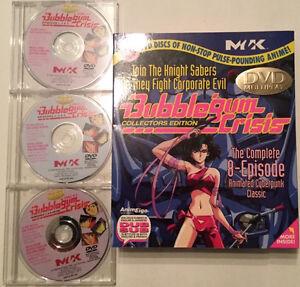 Bubblegum Crisis Collector's Edition DVD Set West Island Greater Montréal image 1