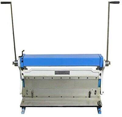 30 Shear Press Brake Bender Slip Roll Roller Sheet Metal Finger Box 20 Gauge