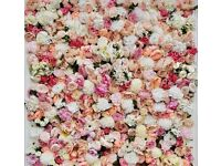 ***QUALITY*** Flower Wall Backdrop for hire £250. Free Delivery within London...contact 07445372653