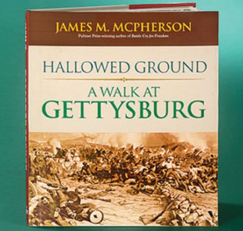 Hallowed Ground A Walk at Gettysburg by James M. Mcpherson Hardcover NEW Books