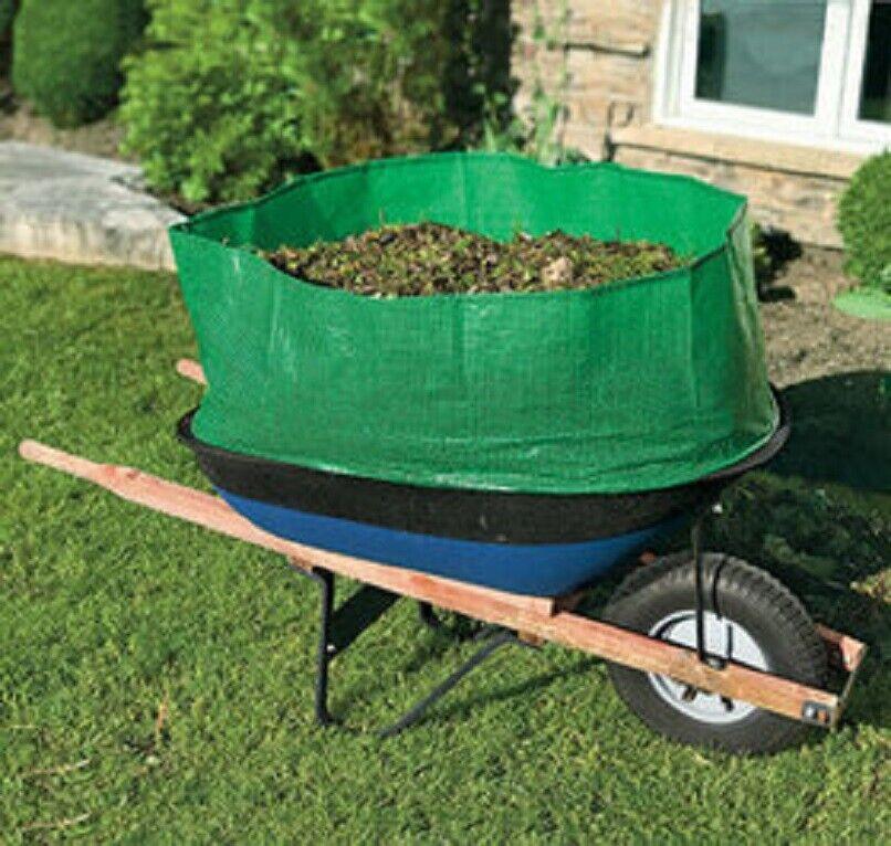 Wheelbarrow Booster Extender Triple Capacity Cargo Extender for Large Capacity Garden Hand Tools & Equipment