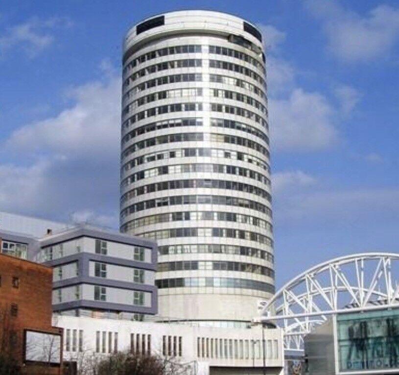 Studio Apartment For Rent Birmingham City Centre Rotunda