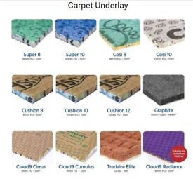 BEST PRICE GUARANTEED Laminate Underlay from £0.99 / Carpet Underlay from £2.99 | Private Seller