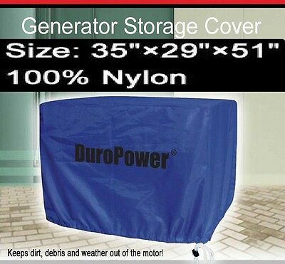 34l X 28w X 51.5h Generator Cover Dp06c New Large Nylon For Mower Tractor