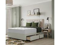 Brand new BENSONS Kingsize divan bed with Quality mattress