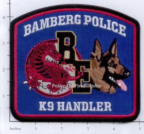 South Carolina - Bamberg K-9 SC Police Dept Patch