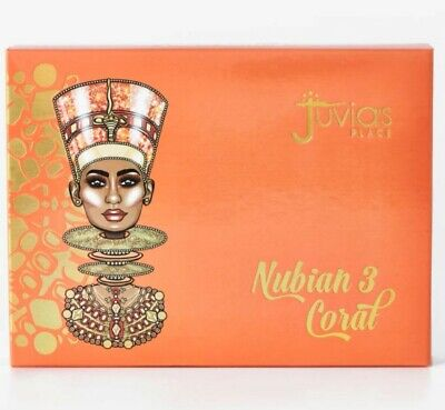 Juvia's Place Nubian 3 Coral Eyeshadow Palette Genuine BNIB