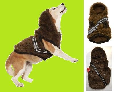 PETCO Star Wars CHEWBACCA Pet Fan Collection SMALL Dog Cat Hoodie Coat Hood NEW  ()
