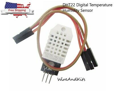Dht22 Digital Temperature Humidity Sensor Am2302 Module Pcb Cable Arduino