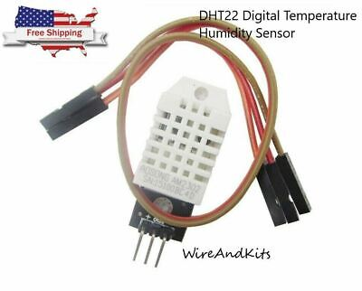 Dht22 Digital Temperature Humidity Sensor Am2302 Module Pcb Cable Arduino