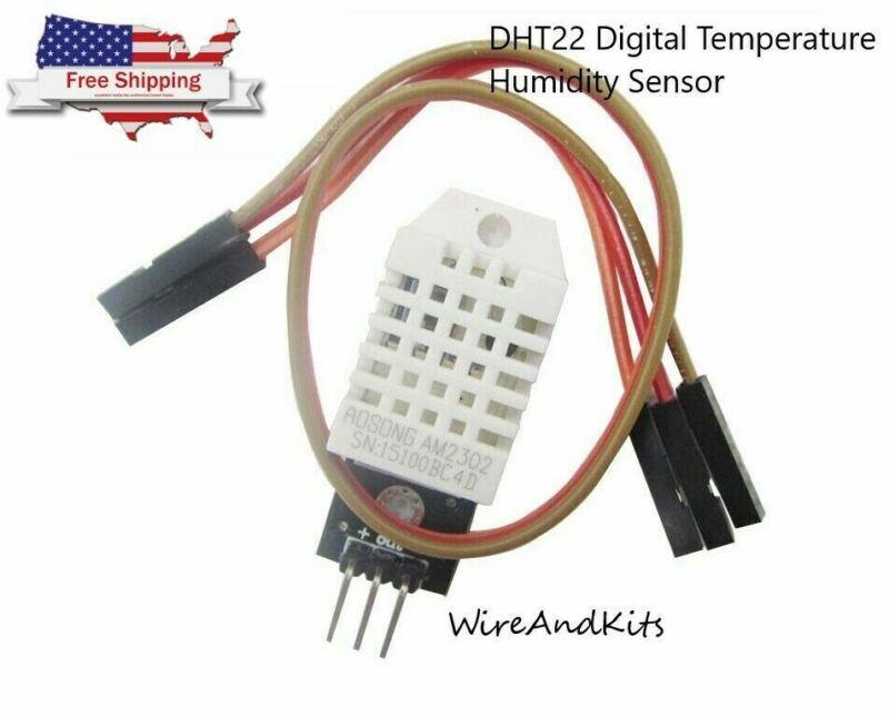 DHT22 Digital Temperature Humidity Sensor AM2302 Module + PCB Cable Arduino