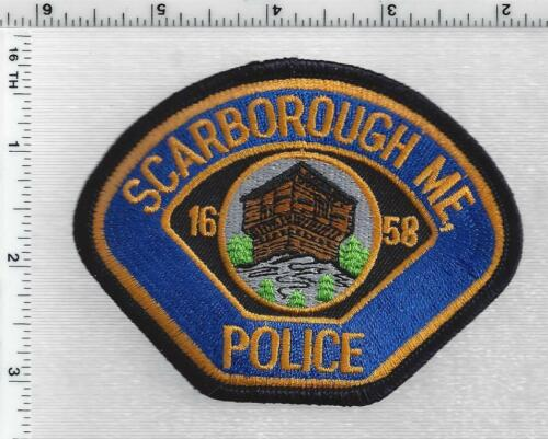 Scarborough Police (Maine) 1st Issue Cap/Hat Patch