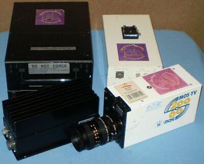 Nac V-14b High Speed Bw Video Camera Rainbow Tv Lens Vtr V-32 V-551 V-552b