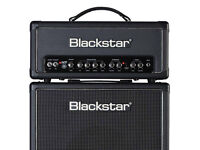 Blackstar HT5-RS Guitar Amplifier Stack with overdrive fx. Still in original boxes. RRP £545