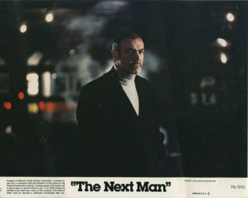 THE NEXT MAN (1976) Original 8x10 Color Set - Sean Connery