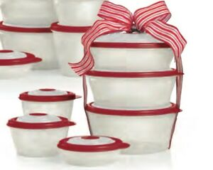 Tupperware 6-Pc Stuffables Set BRAND NEW