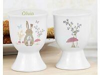 Personalised Easter Meadow Egg Cup