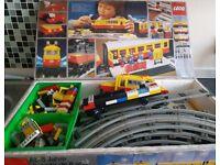 Rare Lego 7740 electric inter city train set