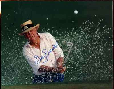 GAY BREWER (Golf Star) HAND SIGNED AUTOGRAPH 8x10 PHOTO **ON SALE** A-42