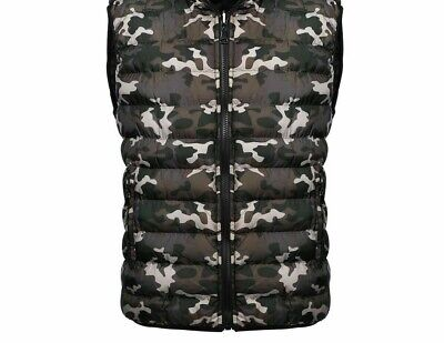 Windbreaker Outdoor Clothing Vest For Male Camouflage Pattern Square Collar Wear