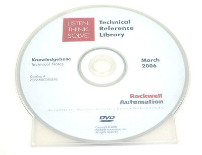Rockwell Automation 9392-kbcdrsene Technical Reference Library 9392kbcdrsene