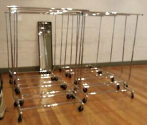 Clothing rack hire. Lots of racks available Marrickville Marrickville Area Preview