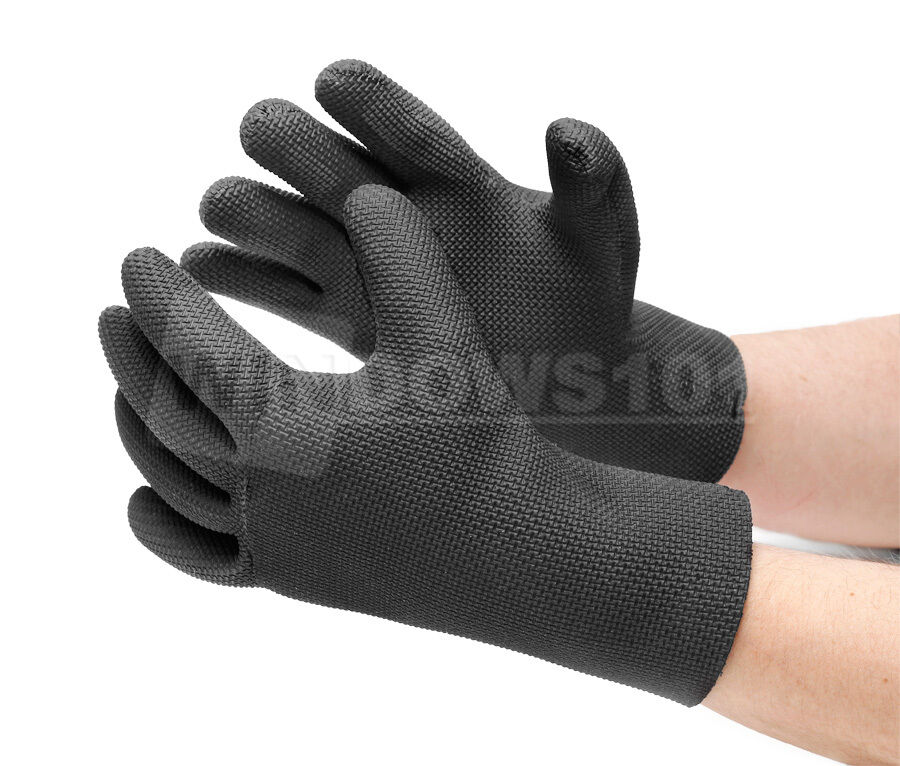 Glacier gloves ice bay fishing waterproof neoprene gloves for Neoprene fishing gloves