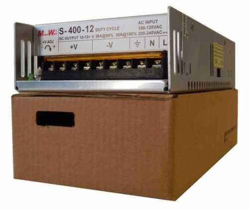 400 Watt CB Radio Power Supply 10 to 15VDC 40A Peak MegaWatt® 12V 13.8V 24V