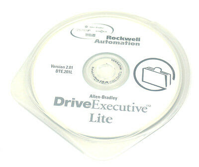 Used Rockwell Automation Drive Dte.201l Executive Lite Version 2.01
