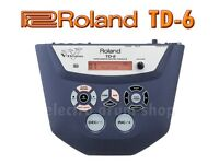 ROLAND TD-6 V Drums module & VEX pack upgrade. Electronic percussion brain & original power supply