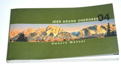 2004 JEEP GRAND CHEROKEE OWNERS MANUAL GUIDE BOOK OEM
