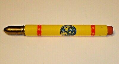 Vintage Wm. F. Renk Sons Hybrid Seed Corn Bullet Pencil Sun Prairie, Wisconsin B